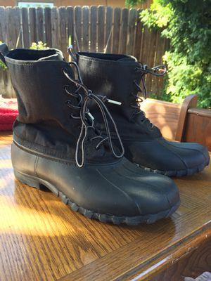 Native Brand rain boots, animal friendly materials! for Sale in Fresno, CA