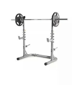 Weider XRS 20 Olympic Squat Rack with Adjustable Safety Spotter for Sale in Westminster, CA