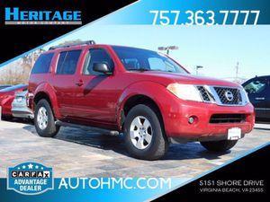 2008 Nissan Pathfinder for Sale in Virginia Beach, VA
