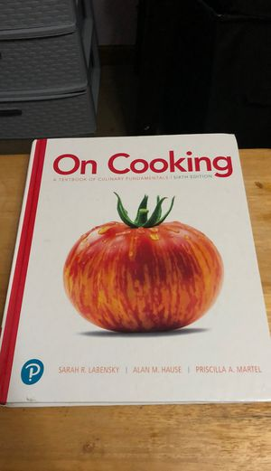 Culinary textbook for Sale in Westerville, OH