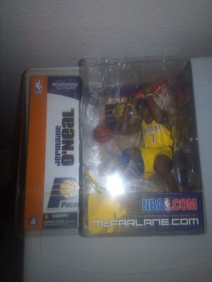 NBA SERIES 4 McFARLANE #7 JERMAINE O'NEAL INDIANA PACERS FIGURE for Sale in Tempe, AZ