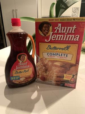 Aunt Jemima syrup and mix (brand new) for Sale in Tucson, AZ