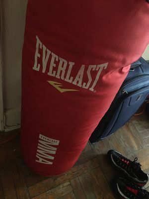 Everlast mma punching or kicking bag for Sale in Jersey City, NJ