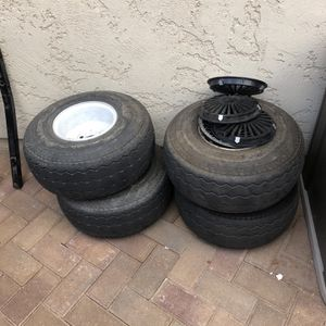 "Golf Cart Tires & Wheels 8"" (Free ) for Sale in Surprise, AZ"