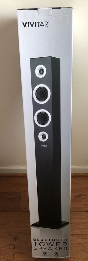 Brand new Vivitar Bluetooth tower speaker (pick up only) for Sale in Alexandria, VA