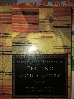 Telling gods story book for Sale in West Palm Beach, FL