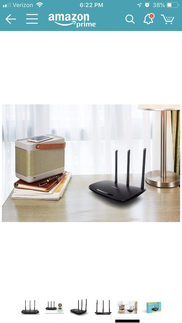 TP-Link N450 Wi-Fi Router - Wireless Internet Router for Home(TL-WR940N)