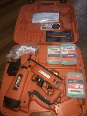 Paslode Nail Gun, Excellent Condition for Sale in Randolph, MA