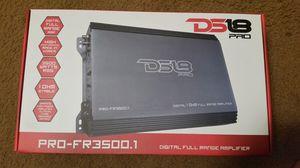 Ds18 pro- fr3500.1 full range amplifier for Sale in Kissimmee, FL