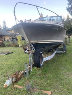 1980 24' silver line and ez loader trailer for Sale in Port Orchard,  WA