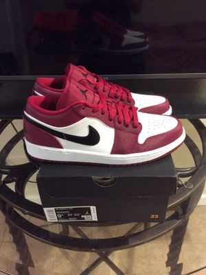 Air Jordan 1 Low Noble Red size 9.5 & 10 for Sale in Brooklyn, NY