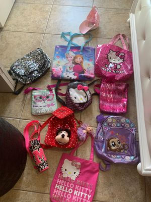 All these Girl Backpacks for toddlers 🎒 for Sale in Cape Coral, FL