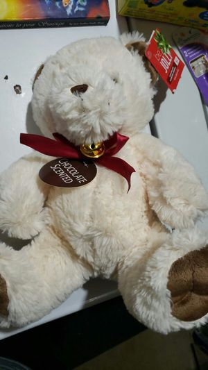 Chocolate scented teddy bear for Sale in Vernon Hills, IL