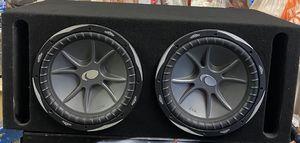 "12"" KICKER CVX'S SUBS/SUBWOOFERS/ROUND L7/DVC/PORTED BOX/ENCLOSURE!SLAPS HARD!! for Sale in Manteca, CA"