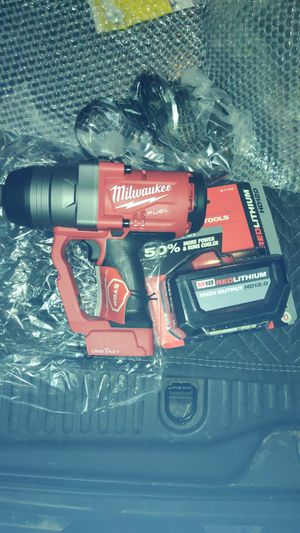 """MILWAUKEE M18 FUEL ONE KEY 1"""" IMPACT WRENCH WITH 12.0AH BATTERY $610 for Sale in San Diego, CA"""