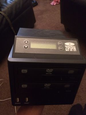 Zipspin dvd/cd duplicator for Sale in Decatur, GA