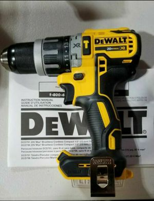DEWALT DCD996B BARE TOOL 20V MAX XR LITHIUM ION BRUSHLESS 3-SPEED HAMMER DRILL (TOOL ONLY) for Sale in Cicero, IL
