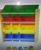 Kids Storage 12 bins for Sale in Chicago, IL