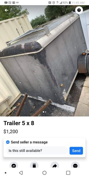 Looking for a trailer for Sale in Dallas, TX