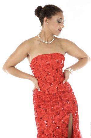 Strapless Red Formal Dress Long for Sale in Herndon, VA