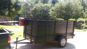 5'x10' steel walled trailer for Sale in Stone Mountain, GA