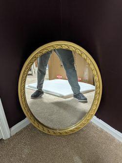Vintage Oval Mirror for Sale in Laurel,  MD