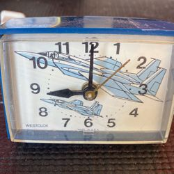 Vintage Westclox Jet Desk Clock for Sale in Boulder City,  NV