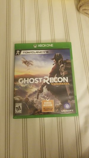 Tom clancys ghost recon xbox one for Sale in Purcellville, VA