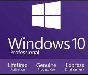 Windows 10 Professional Key 🔑 // Free Delivery 🚚 for Sale in Sammamish, WA