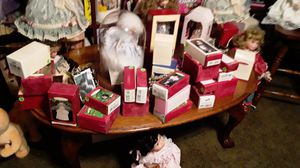 Barbie Christmas hallmark decorations 15 each or all 27 fir 200 never out of box for Sale in Las Vegas, NV