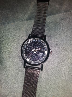 HANDSOMELY..BEUTIFUL.. DESIGNER TIME PIECE WITH RAINBOW ACCENTS...AND SEE THROUGH...CASE..MUST SEE for Sale in Delair, NJ
