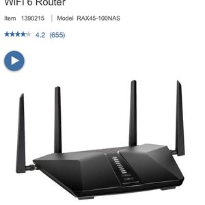 NETGEAR Nighthawk 6-Stream AX4300 WiFi 6 Router - BRAND NEW UNOPENED for Sale in Aloha, OR