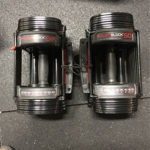 Two Different Power Blocks - One Exp & One 50Lbs for Sale in Renton, WA