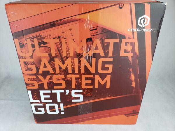 CYBERPOWERPC Gaming PC (Intel i5-9400F, GTX 1660 Ti) + keyboard mouse