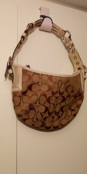 Coach braided purse for Sale in Mesa, AZ