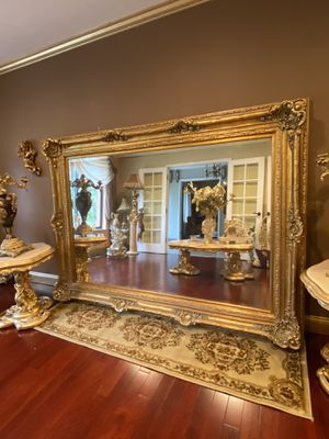 Very beautiful gorgeous antique large beautiful mirror for Sale in Troy, MI
