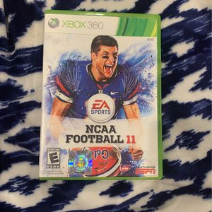 NCAA Football 11 For Xbox 360 for Sale in Baton Rouge, LA