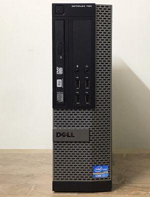 DELL Optiplex 790 SFF Core i7 Corei7 8GB RAM 256GB SSD Windows 10 dual display desktop computer for Sale in Pembroke Pines, FL