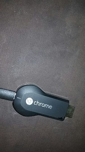 Brand new chromecast comes with box and wire for Sale in Delhi, CA