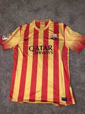 Fc Barcelona Jersey for Sale in Centreville, VA