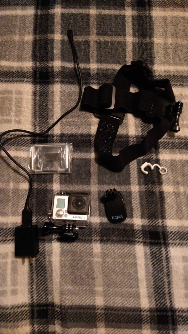 GoPro hero 3 (never used) (negotiable price)