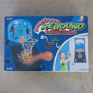 Door N Floor Rebound Basketball Alex Toys New Hoop for Sale in San Antonio, TX
