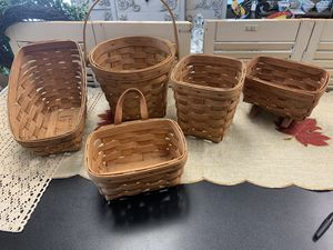 5 Longaberger baskets for Sale in Modesto, CA