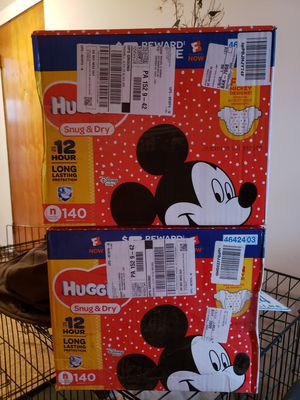 Huggies Diapers-Newborn for Sale in Gibsonia, PA