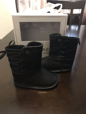 Michael Kors baby girl boots for Sale in Houston, TX