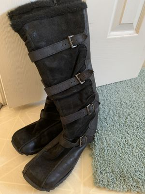 Aldo black boots 7.5 size for Sale in Indian Trail, NC