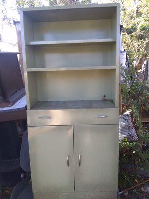 Vintage Green Metal Cabinet for Sale in Lynchburg, VA