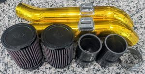 """AAM Competition 2.75"""" S-LINE INTAKE KIT With Gold Wrap For Nissan R35 GTR 09-20 for Sale in Orlando, FL"""