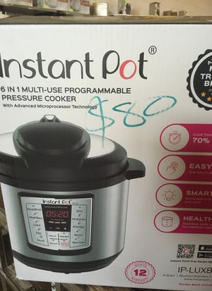 Instant pot for Sale in Dallas, TX