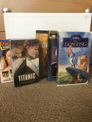 VHS movies for Sale in Santa Maria, CA